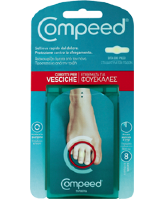 Compeed Cerotti Per Vesciche Piedi 8 Pezzi - La tua farmacia online