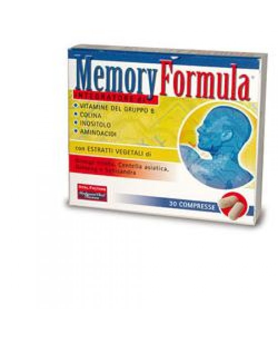 Memory Formula Integratore Alimentare 30 Compresse - FARMAEMPORIO