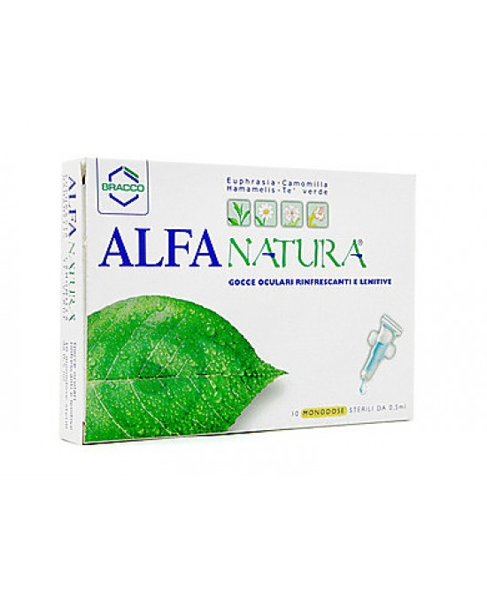 Alfa Natura Collirio 10 Monodose Da 0,5ml - FARMAEMPORIO