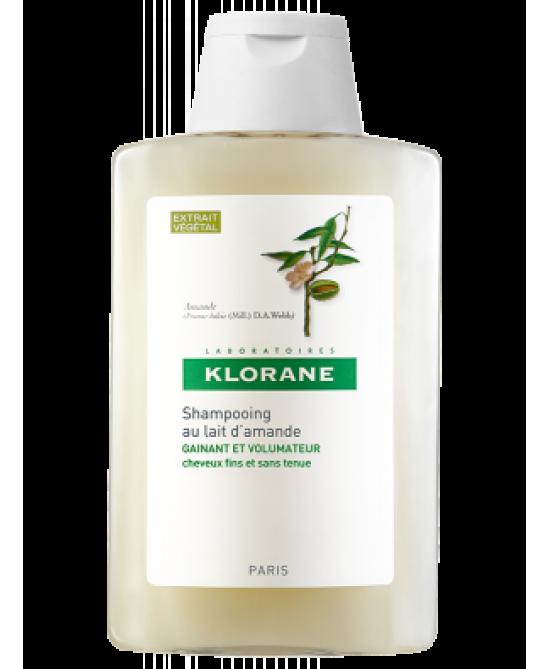 Klorane Shampoo Al Latte Di Mandorla 400ml - Farmamille