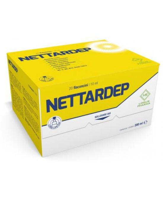 Logus Pharma Nettardep Integratore Alimentare 20 Flaconcini Da 10ml - La tua farmacia online