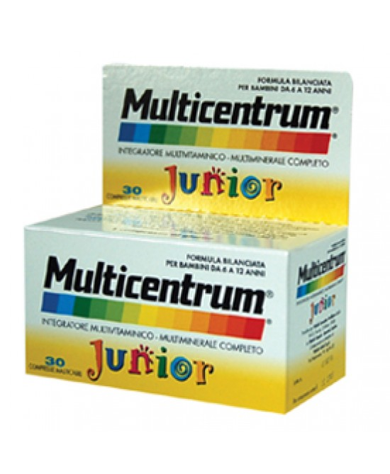 Multicentrum Junior 30Compresse Masticabili - Zfarmacia