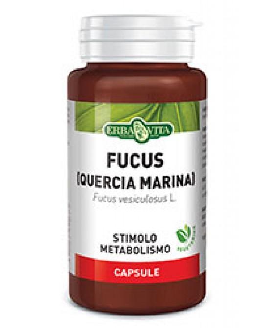 ErbaVita Capsule Monoplanta  Fucus (Quercia Marina) Integratore Alimentare 60 Capsule - FARMAEMPORIO