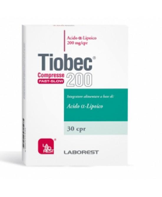 Tiobec 200 Retard 30 Compresse - Farmacento