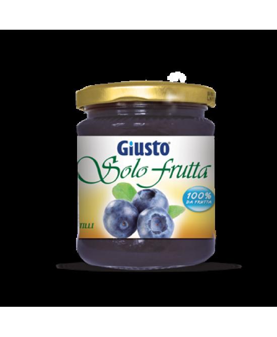 Giusto Marmellata Di Mirtillo Senza Zucchero 248g - Zfarmacia