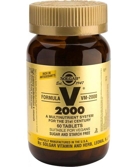Solgar Vm 2000 Supplement 60 Tavolette - Farmacia 33
