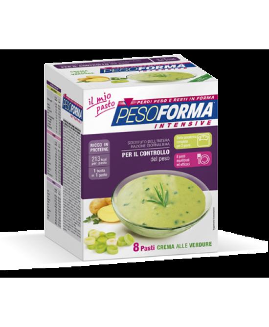 Pesoforma Crema Intensive Verdure 8 Buste 440g - FARMAEMPORIO
