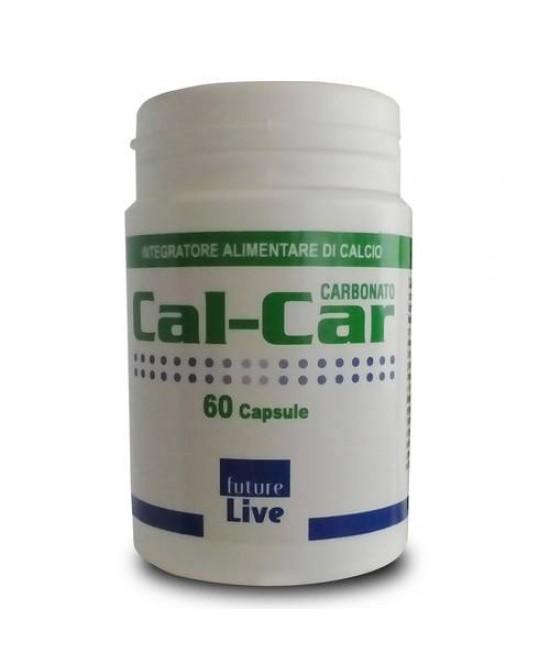 Cal-Car Carbonato Integratore Di Calcio 60 Capsule - Zfarmacia