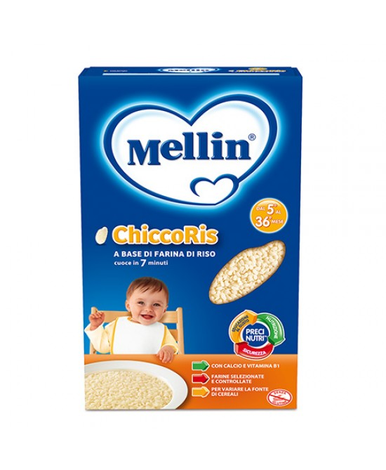 Mellin Pastine E Riso Chiccoris 350g - La tua farmacia online