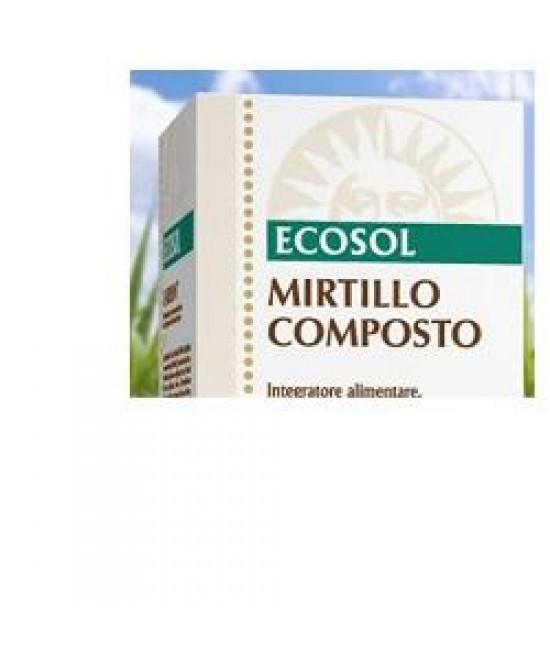 Mirtillo Composto Ecosol 60cpr - Zfarmacia
