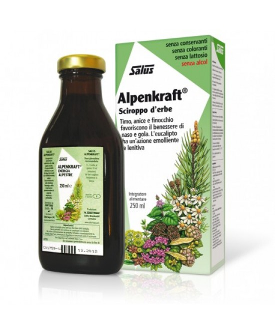 Salus Alpenkraft  Sciroppo D'Erbe 250ml - Farmacia 33