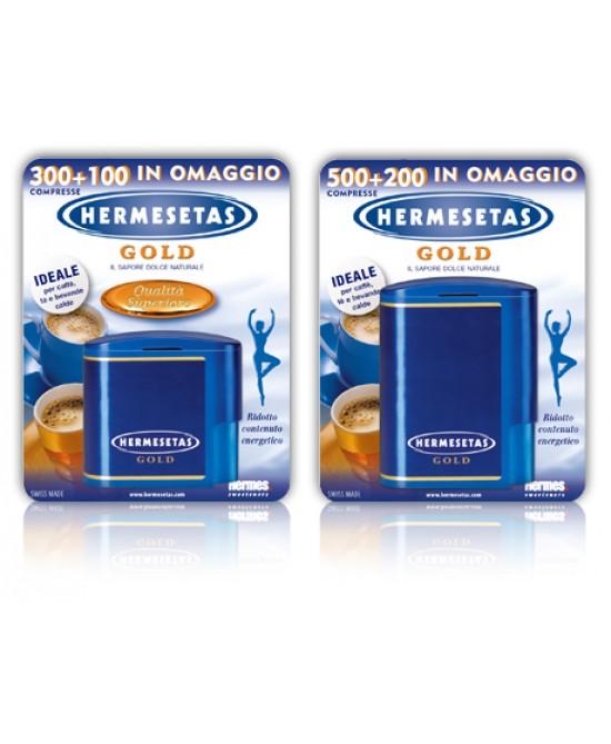 Hermesetas Gold 300 + 100 Compresse - Farmacento