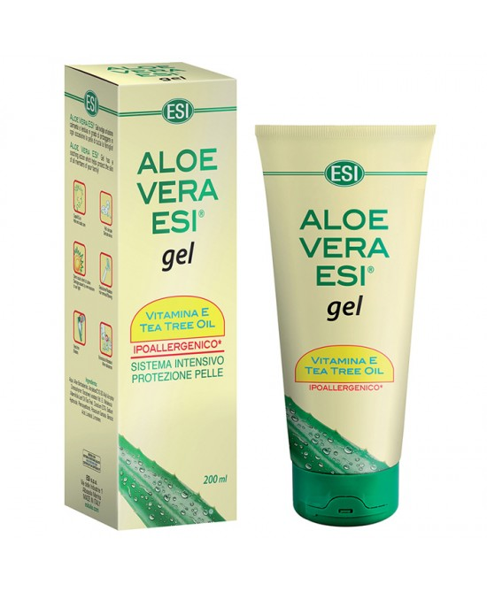 Esi Aloe Vera Gel Vitamina E + Tea Tree 200ml - Farmacento