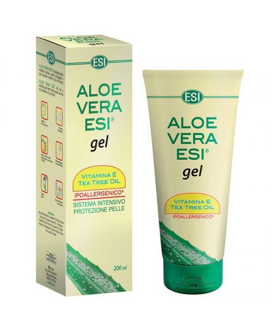 Esi Aloe Vera Gel Vitamina E + Tea Tree 200ml - La tua farmacia online