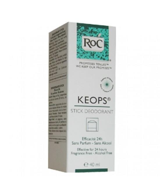 Roc Keops Deodorante Stick - Farmacento