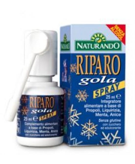 Riparo Gola Spray 25ml - Farmacia 33