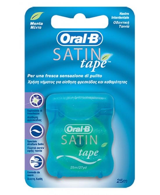 Oral-B Satin Tape Filo Interdentale 25 Metri - farma-store.it
