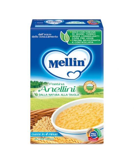 Mellin Pastina Anellini 350g - La tua farmacia online