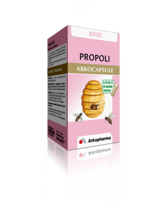 Arkopharma Propoli Arkocapsule Integratore Alimentare 45 Capsule - La tua farmacia online