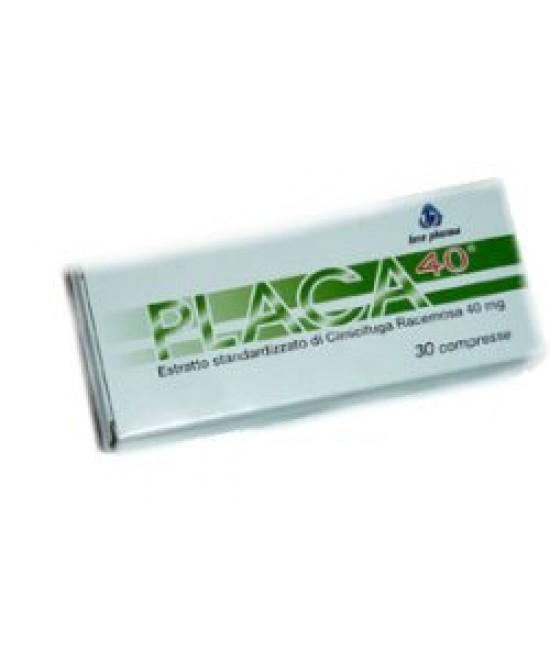Placa40 30cpr - Zfarmacia