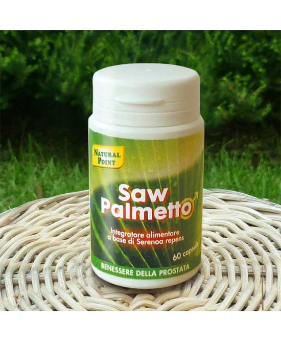 Natural Point Saw Palmetto 60 Capsule - Farmacento