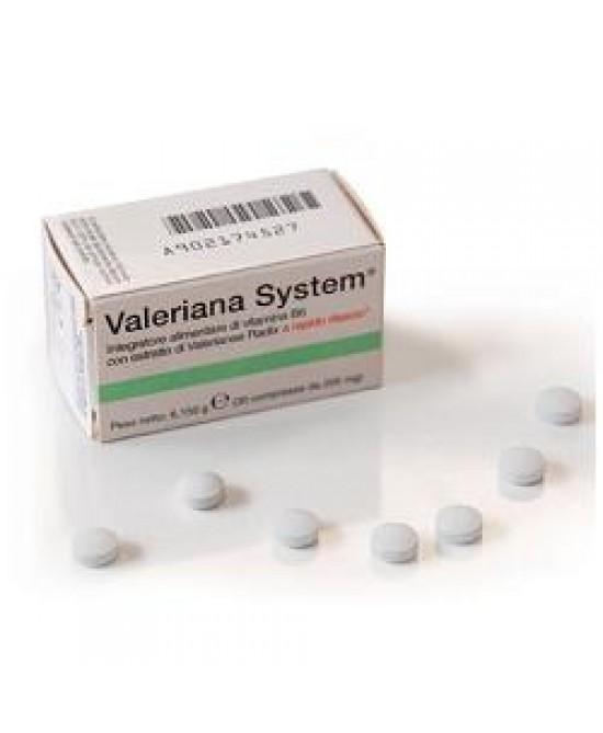 Valeriana System 30cpr - La tua farmacia online
