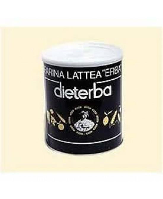 Dieterba Farina Lattea Barattolo 350g - Zfarmacia