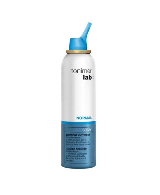 Tonimer Lab Normal Spray Soluzione Isotonica 125ml - Zfarmacia