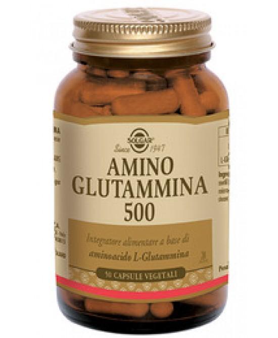 Solgar Amino Glutammina 500 50 Capsule Vegetali - Farmastar.it