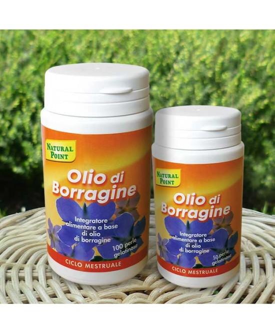 Natural Point Olio Di Borragine Integratore Alimentare 50 Perle Da 500mg - La tua farmacia online