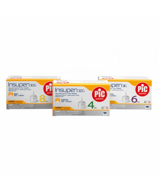 Pic Insupen Ago Penna 29g 12mm 100 Pezzi - Farmacia 33