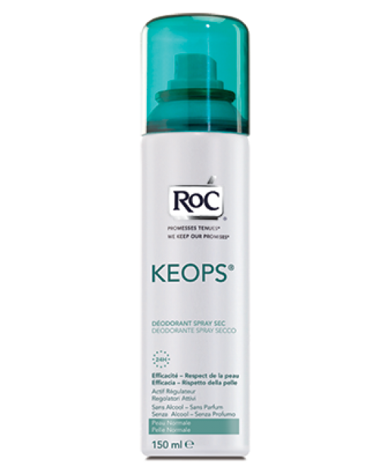 Roc Keops Deodorante Spray Secco 150ml - Farmamille