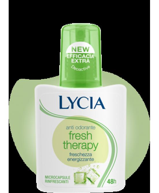 Lycia Spray Antiodorante Fresh Terapy 75ml - Farmacento