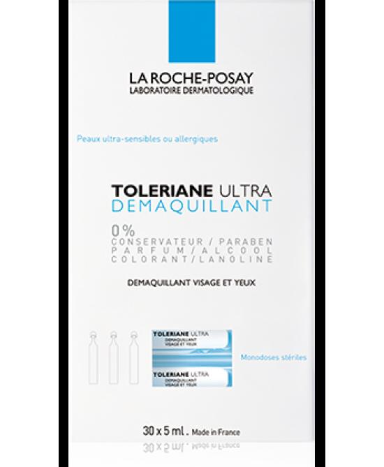 La Roche-Posay Toleriane Ultra Demaquillant Struccante Viso-Occhi 30 Monodosi x5ml - Farmastar.it