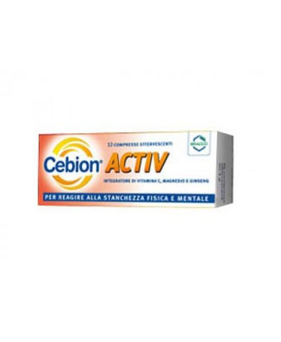 Cebion Activ Integratore Alimentare 12 Compresse Effervescenti - La tua farmacia online