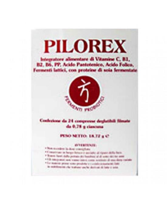 Pilorex 24 Compresse - Farmalilla