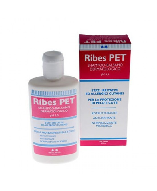 Ribes Pet Shampoo E Balsamo 200ml - Zfarmacia