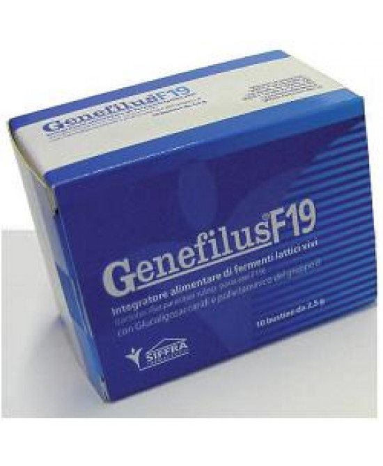Genefilus F19 Integr 10bust - Farmacento