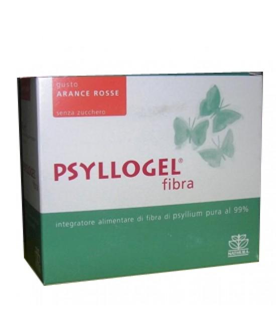 Psyllogel Fibra Arance Rosse 20 Bustine Integratore - Farmacento