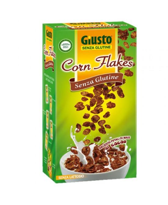 Giusto Corn Flakes Con Cacao Senza Glutine 250g - La tua farmacia online