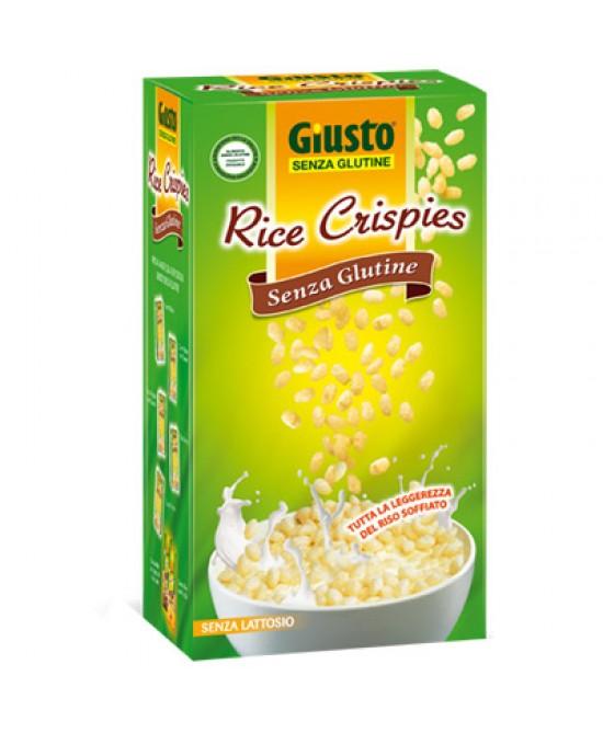 Giusto Rice Crispies Senza Glutine 250g - Farmacento