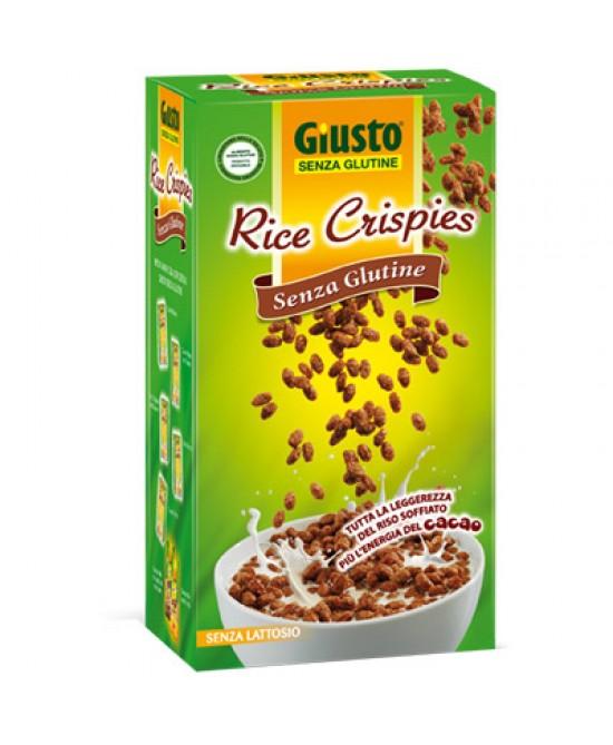Giusto Rice Crispies Con Cacao Cereali Senza Glutine 250g - La tua farmacia online