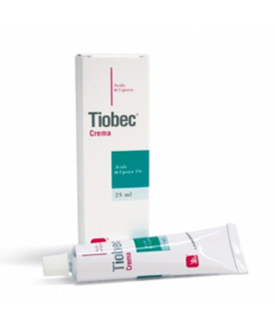 Tiobec Cr Ac Lipoico 25ml - Farmacento