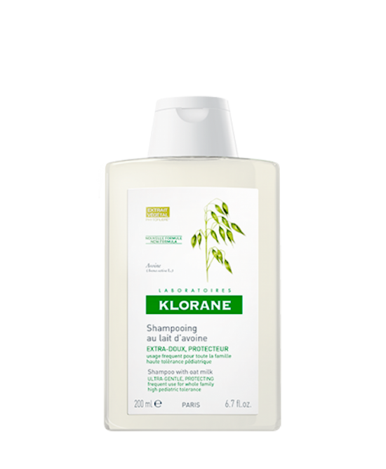 Klorane Shampoo Al Latte D'Avena 200ml - Zfarmacia