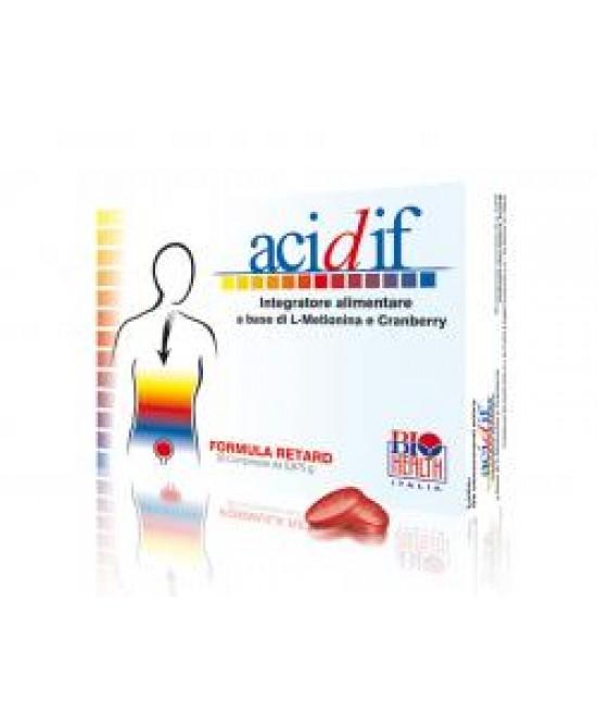 Acidif Integratore Alimentare 30 Compresse - Zfarmacia
