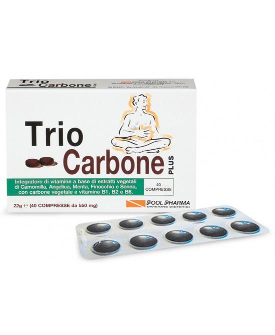 Pool Pharma Triocarbone Plus 40 compresse - La tua farmacia online