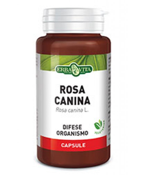 ErbaVita Capsule Monoplanta Rosa Canina Integratore Alimentare 60 Capsule - La tua farmacia online
