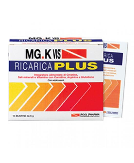 MGK Vis Ricarica Plus 14 Bustine   - La tua farmacia online