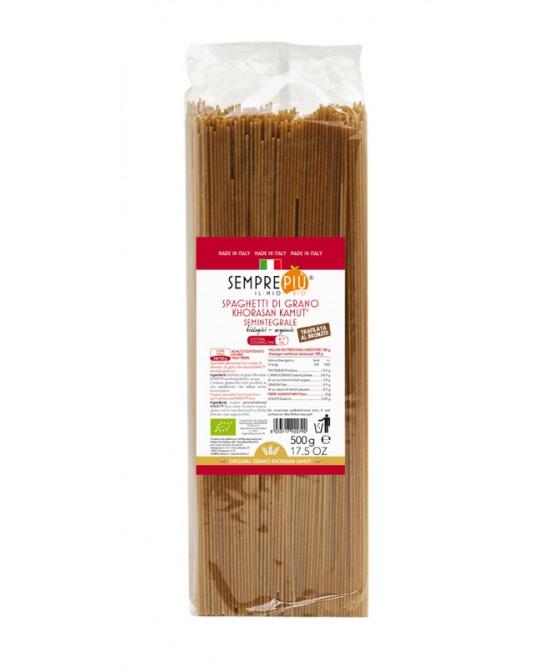 Sempre Più Spaghetti Di Kamut Semintegrale Biologico 500g - Farmawing