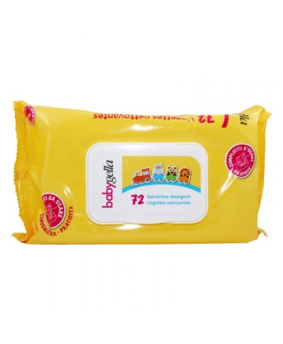 Babygella Linea Igiene Salviettine Detergenti 72 Pezzi - FARMAEMPORIO